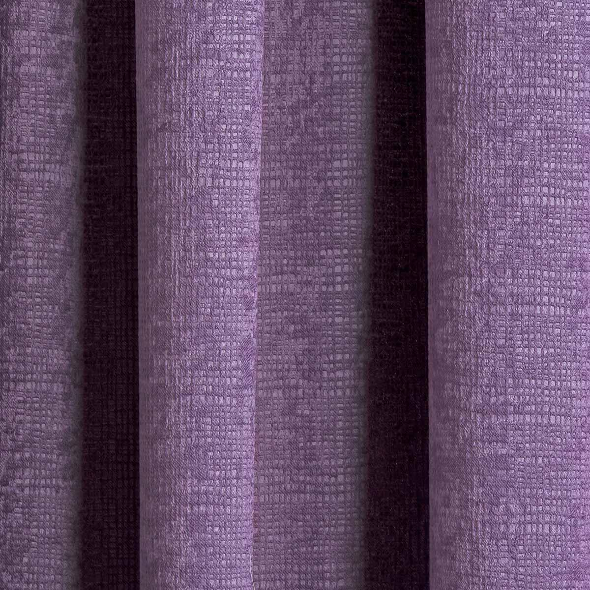 Matrix Block Out Thermal Tape Top Curtains Grape -  - Ideal Textiles