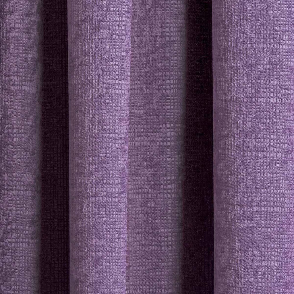 Matrix Block Out Thermal Tape Top Curtains Grape