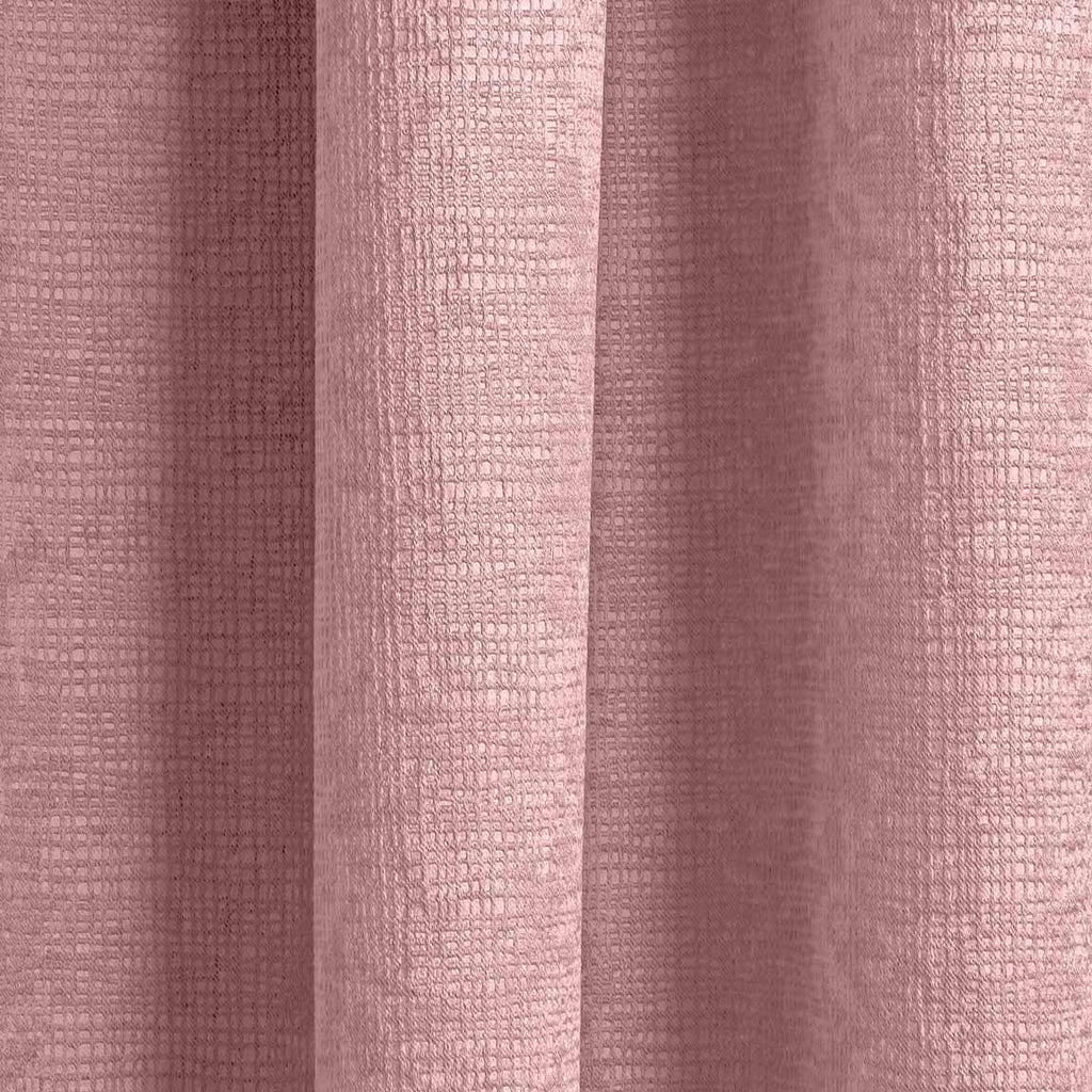 Matrix Block Out Thermal Tape Top Curtains Blush