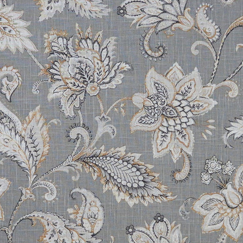 Pembury Pewter Made To Measure Curtains -  - Ideal Textiles