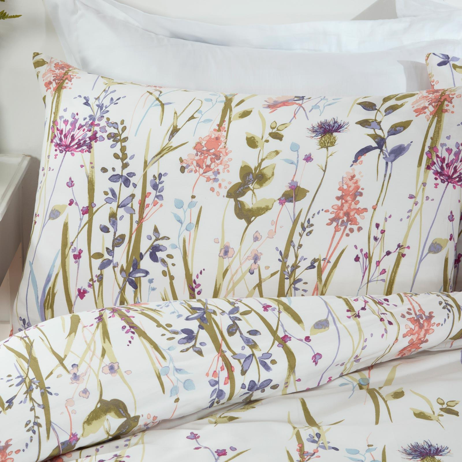 Hampshire Country Floral Multi Duvet Cover Set -  - Ideal Textiles
