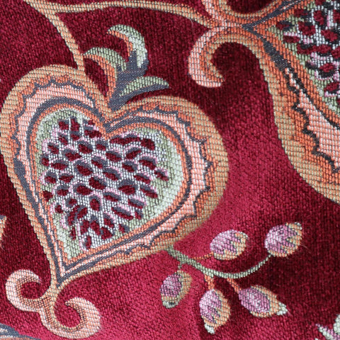 Summer Fruits Ruby Made To Measure Curtains -  - Ideal Textiles