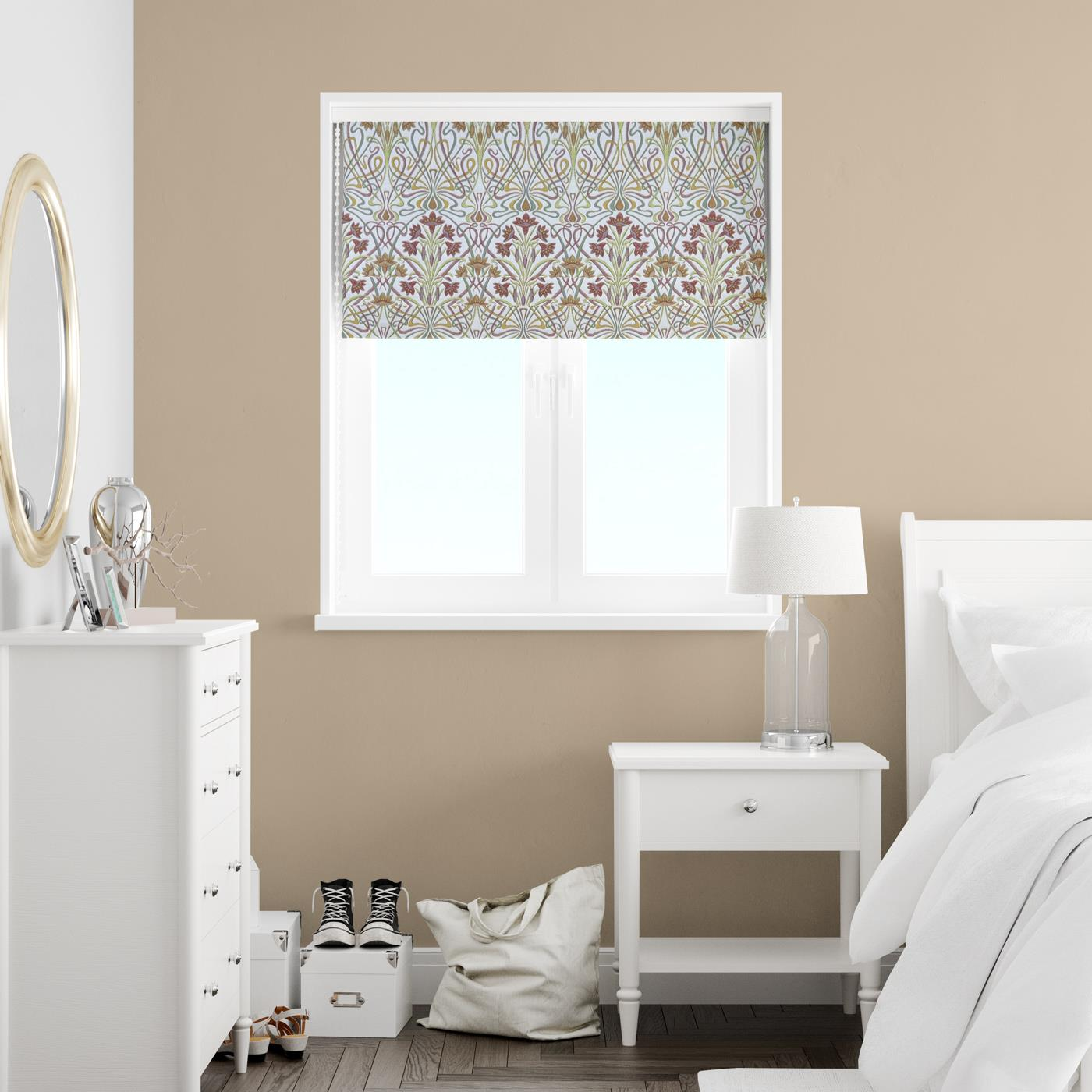 Tiffany Autumn Made To Measure Roman Blind -  - Ideal Textiles