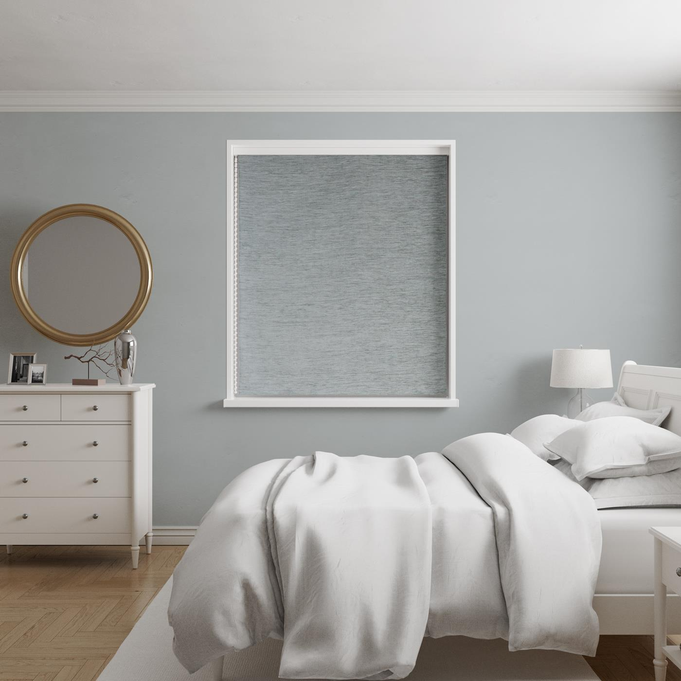 Scarba Duck Egg Made to Measure Roman Blind -  - Ideal Textiles