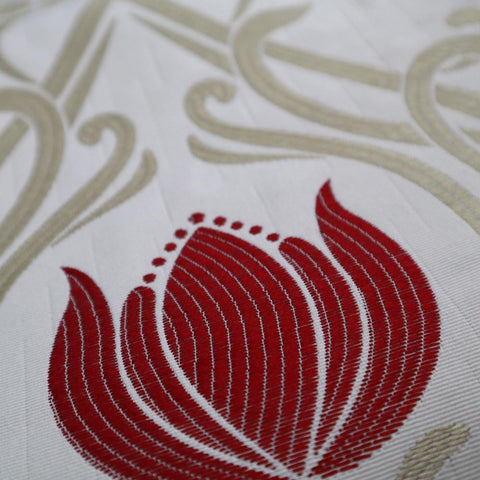 Lalique Ruby Made To Measure Curtains -  - Ideal Textiles