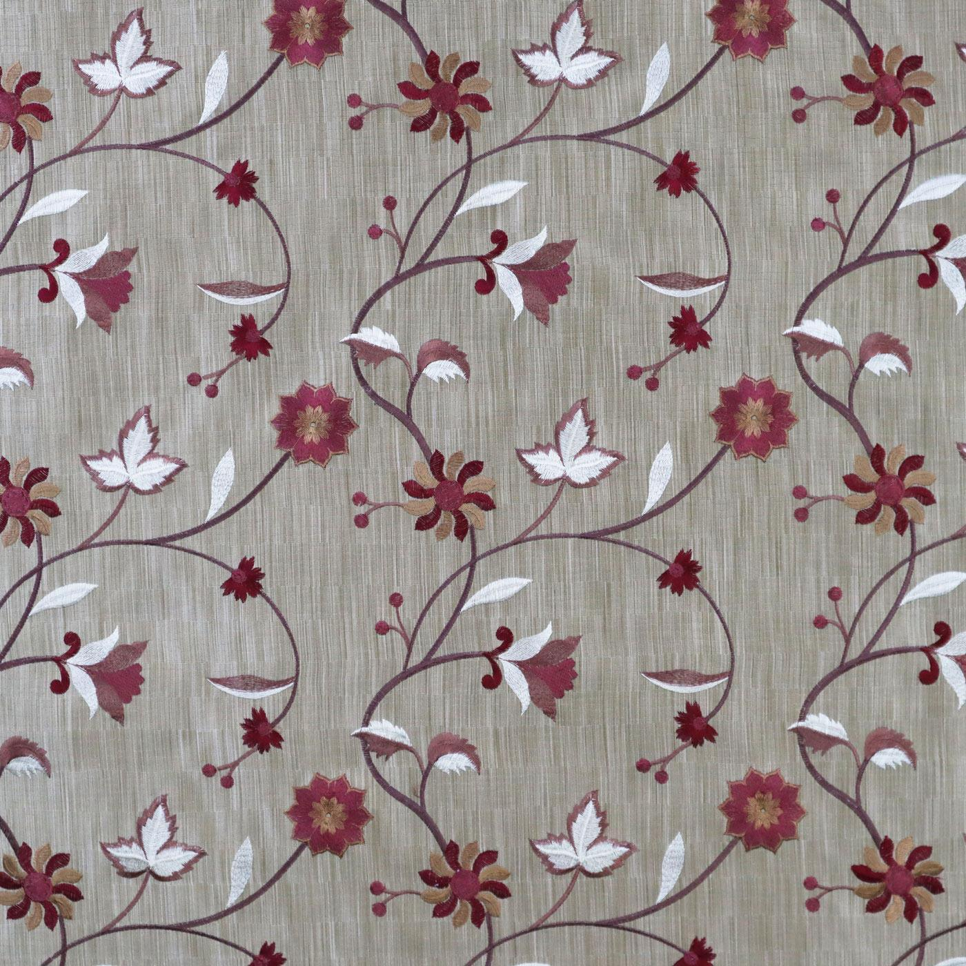 Glitz 4912 40 Berry Made To Measure Roman Blind -  - Ideal Textiles