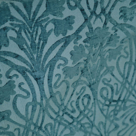 Tiverton Verdigris Made To Measure Curtains -  - Ideal Textiles