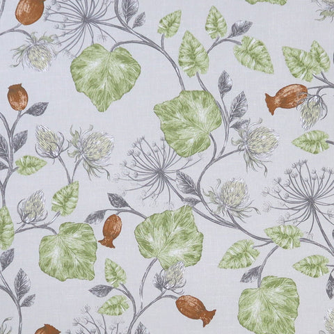 Parchment Fern Made To Measure Curtains -  - Ideal Textiles