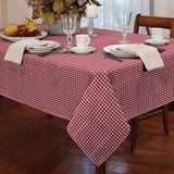 Gingham Check Table Cloth