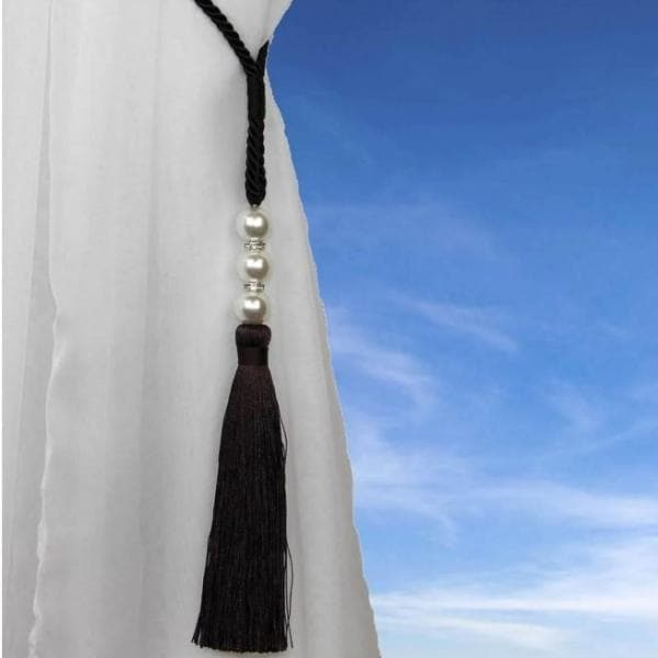 Alan Symonds Tie Backs Chocolate Royal Curtain Tie Back