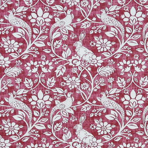 Heathland Rouge Made To Measure Curtains -  - Ideal Textiles