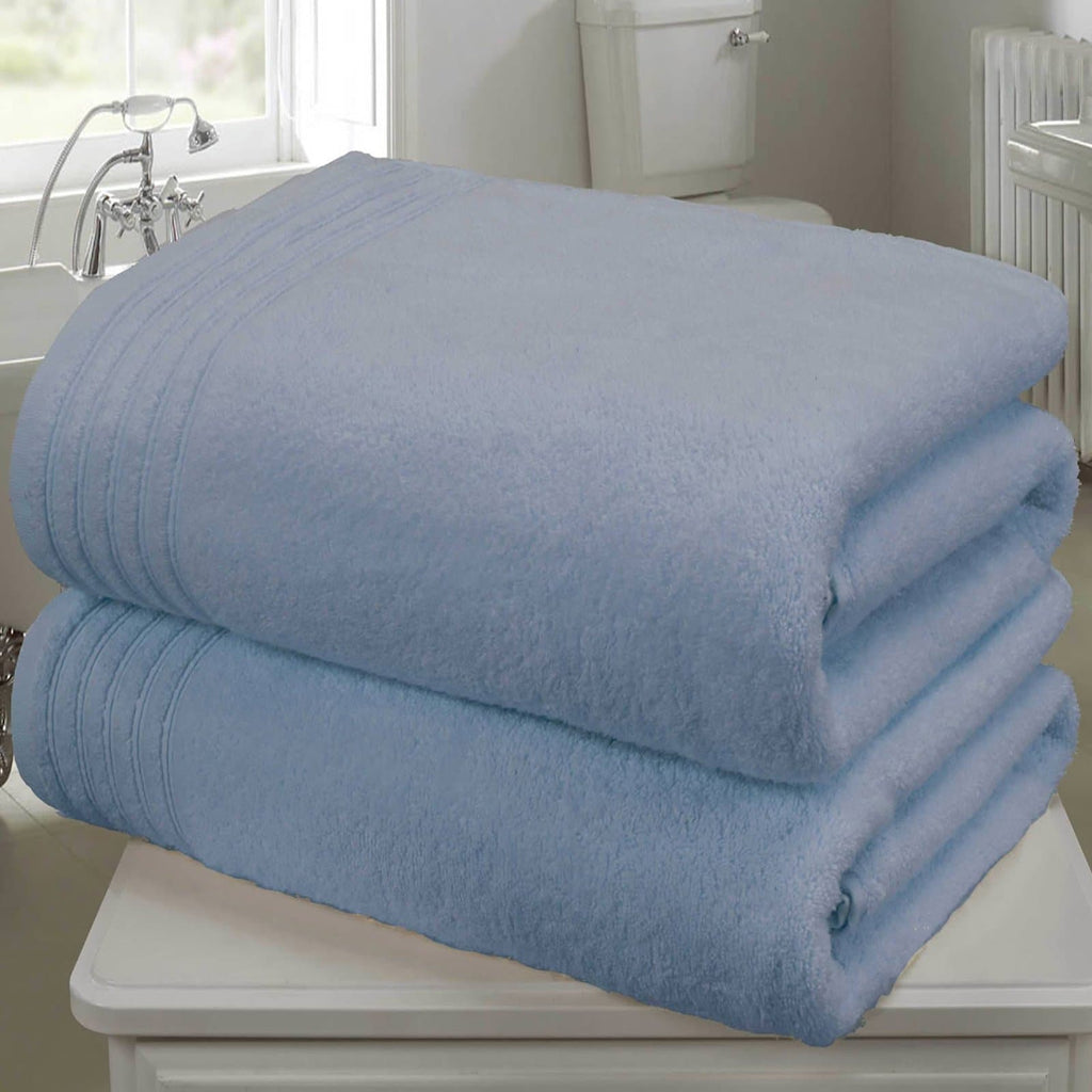 So Soft 2 Piece Towel Bale Blue - Ideal Textiles