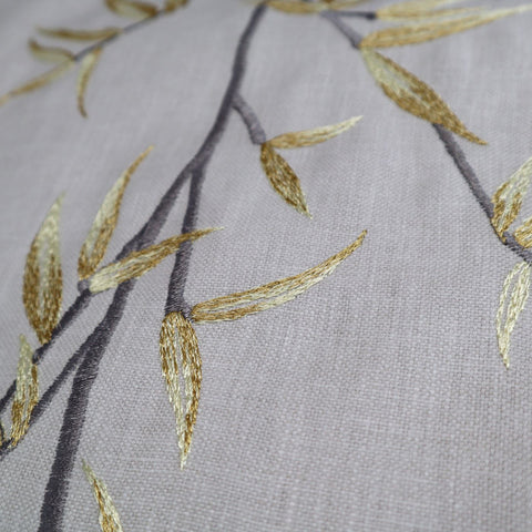 Sumi Saffron Made To Measure Curtains -  - Ideal Textiles
