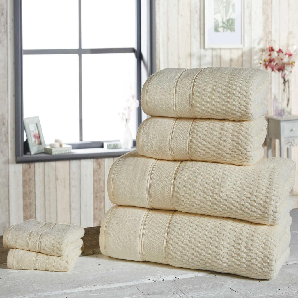 Royal Velvet 6 Piece Towel Bale Cream - Ideal Textiles