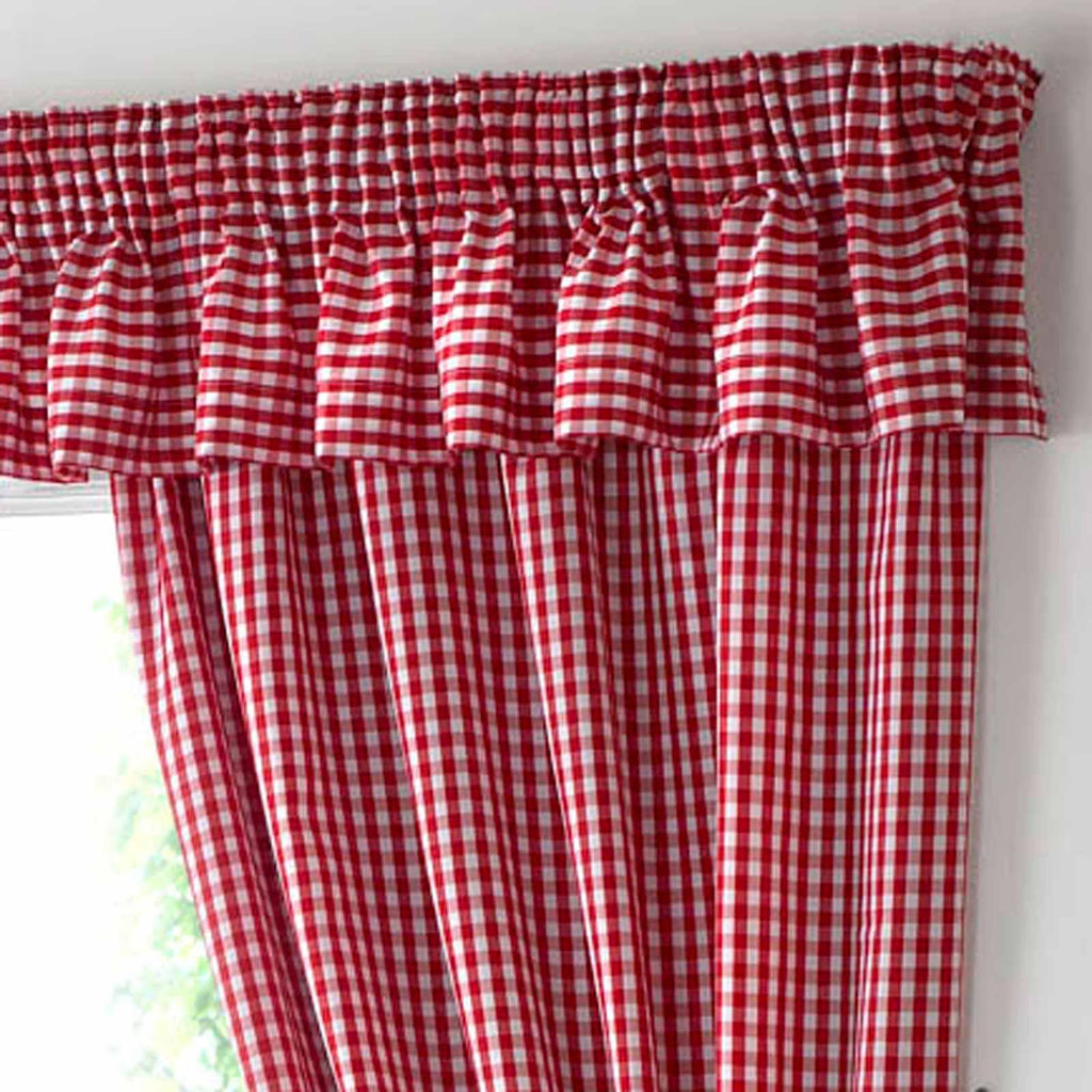 Gingham Kitchen Curtains Ideal Textiles