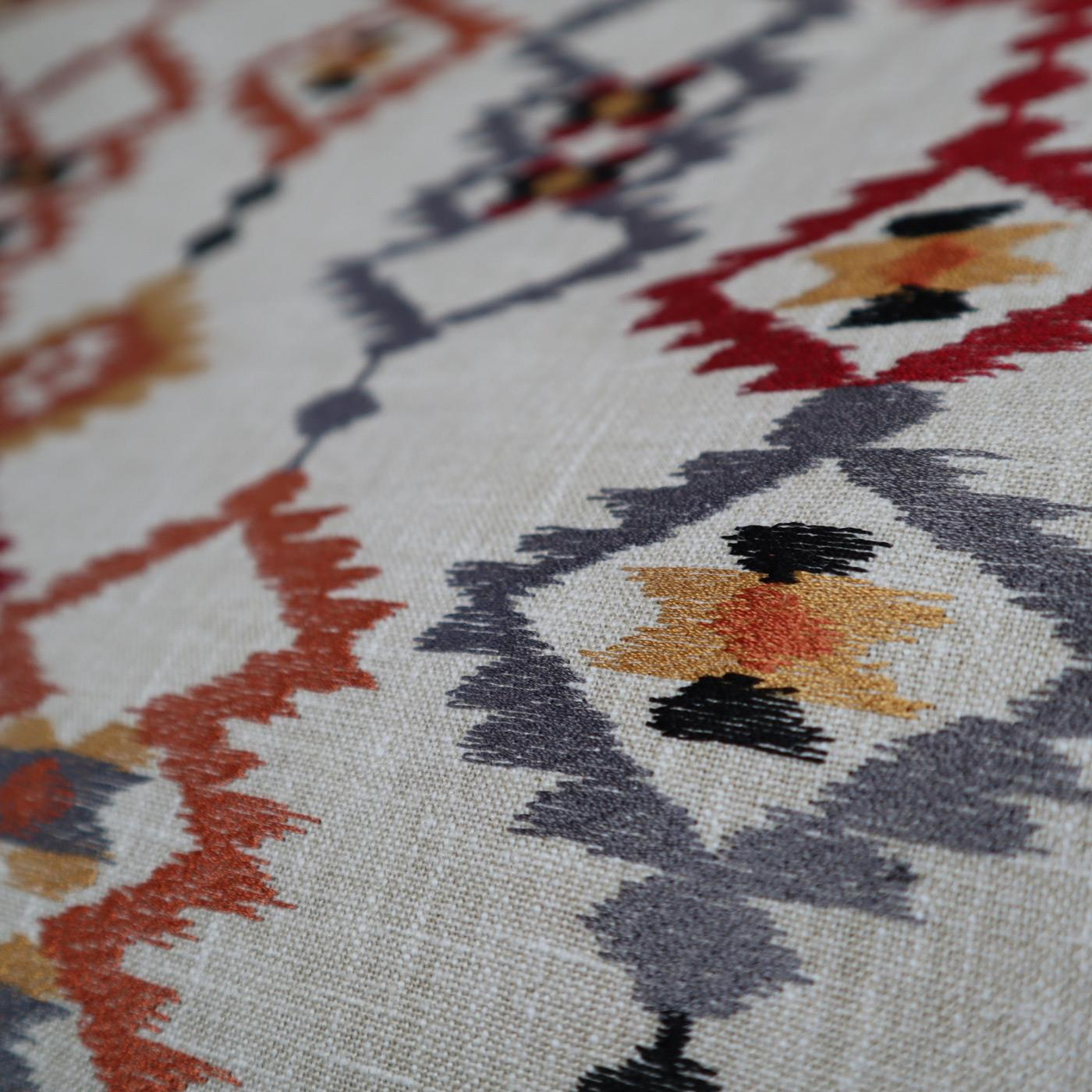 Sante Fe Salsa Made To Measure Roman Blind -  - Ideal Textiles