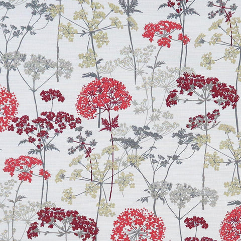 Hedgerow Ruby Made To Measure Curtains -  - Ideal Textiles