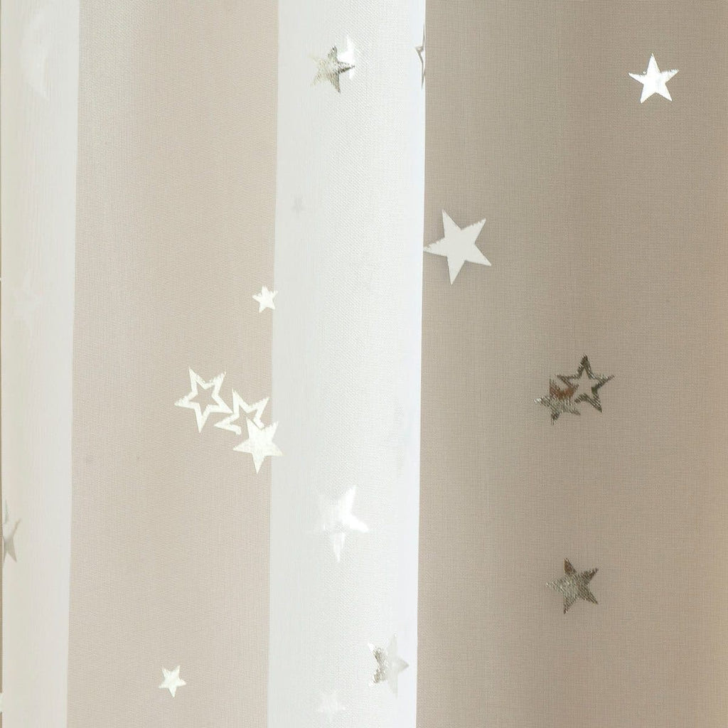 Starlight Voile Curtain Panels - Ideal Textiles
