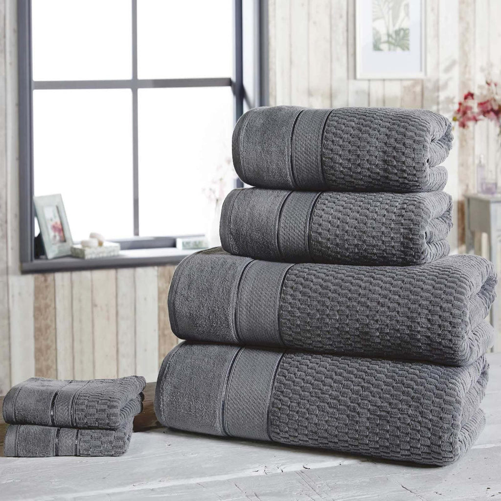Royal Velvet 6 Piece Towel Bale Grey - Ideal Textiles