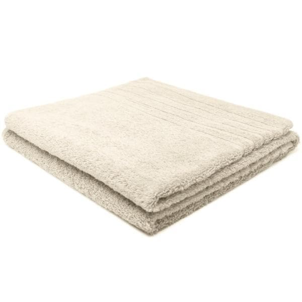 Crieff 100% Cotton 580gsm Towels Champagne Cream - Ideal Textiles