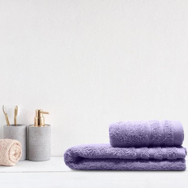 Crieff 100% Cotton 580gsm Towels Lilac Purple