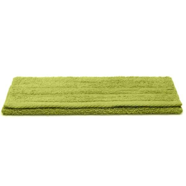 Crieff 100% Cotton 580gsm Towels Apple Green - Ideal Textiles