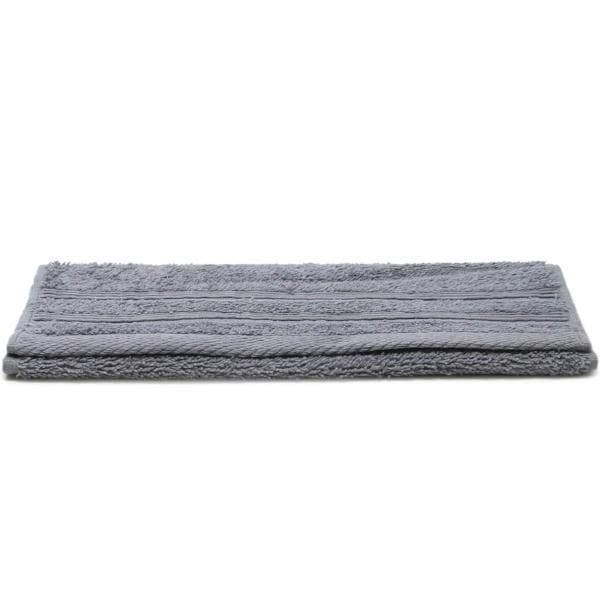 Crieff 100% Cotton 580gsm Towels Grey - Ideal Textiles