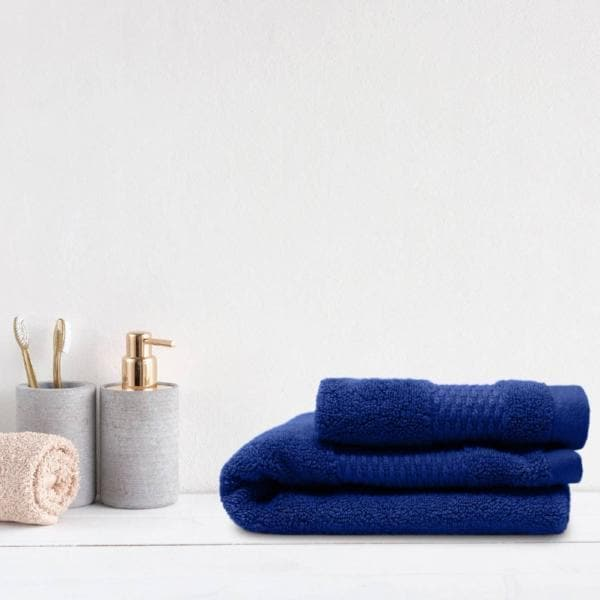 Moffat 100% Cotton Zero Twist Towels Blue