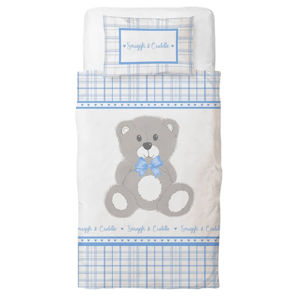 Rapport Kid's Bedding Single Snuggle & Cuddle Duvet Covers Blue
