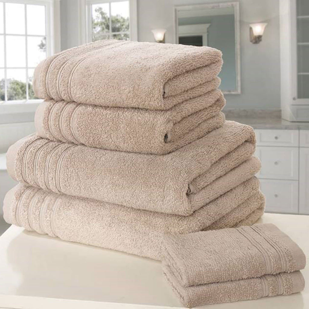 So Soft 6 Piece Towel Bale Taupe - Ideal Textiles