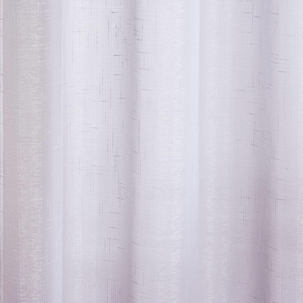 Marrakesh Sparkle Eyelet Voile Curtain Panels White -  - Ideal Textiles