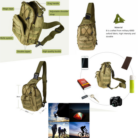 Bag details tactical military