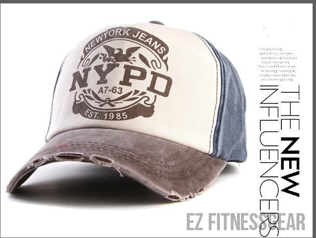 Baseball Cap *SUMMER COLLECTION*-All you want shop-coffer and dark blue-56to61cm-EZ Fitness Gear