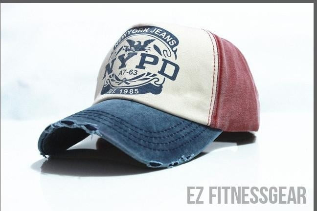 Baseball Cap *SUMMER COLLECTION*-All you want shop-dark blue and red-56to61cm-EZ Fitness Gear
