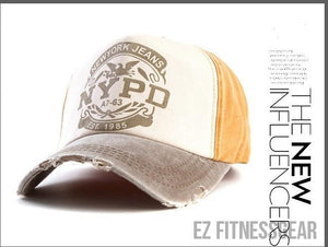 Baseball Cap *SUMMER COLLECTION*-All you want shop-khaki and yellow-56to61cm-EZ Fitness Gear