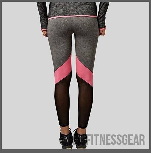 HOT SELLING - Women's Yoga pants - AMAZING leggings-EZ Fitness Gear-Pink-L-EZ Fitness Gear