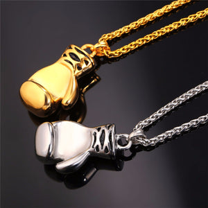 Lovely Boxing Glove necklace and pendant