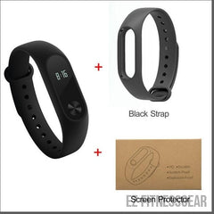 Waterproof fit band to track your fitness level *BUY NOW*-EZ Fitness Gear-Black and Protector-EZ Fitness Gear