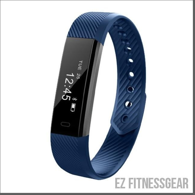 Waterproof wristband to track your fitness level *BUY NOW*-EZ Fitness Gear-Blue-EZ Fitness Gear