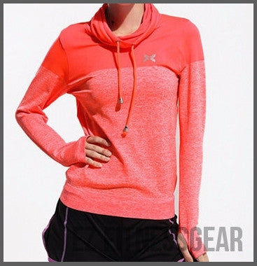 Women's Gym & Fitness long sleeve shirt *Hot Seller*-All you want shop-orange-L-EZ Fitness Gear