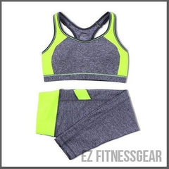 Women's running, gym and yoga top and jogging pants *HOT SELLING*-All you want shop-Yellow-M-EZ Fitness Gear