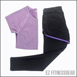 Women's Slim Yoga pants and top,  - EZ Fitness Gear