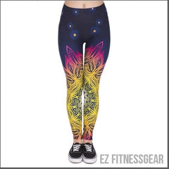 Women's yoga pants - Mandala,  - EZ Fitness Gear