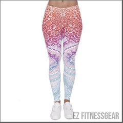 Women's Yoga and Gym pants *HOT PRODUCT*-EZ Fitness Gear-Red Orange-One Size-EZ Fitness Gear