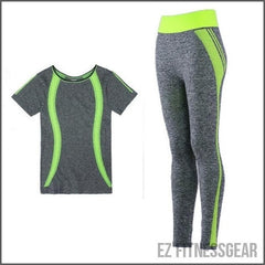 Women's yoga pants and top - Slim,  - EZ Fitness Gear