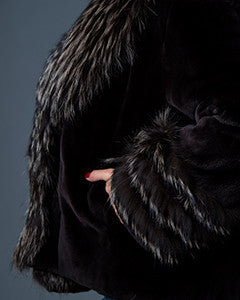 Beaver fur coat - Christos Furs