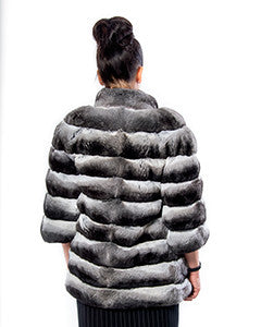 Chinchilla fur coat - Christos Furs
