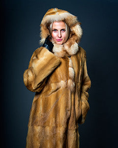 Mink fur coat - Christos Furs