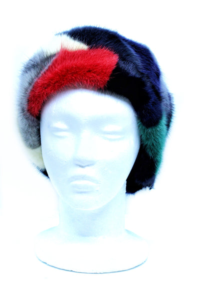 Sectioned Mink Multicolor Headband