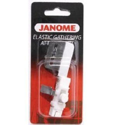 Janome Elastic Gathering Attachment - Wide (CoverPro)